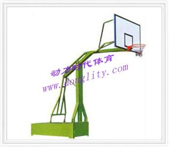 仿液压式篮球架