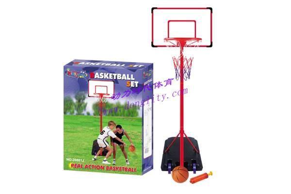 塑料篮球架