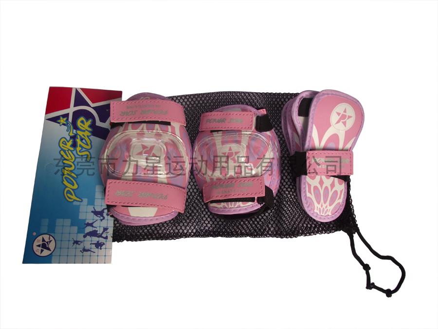 彩绘护具-粉红