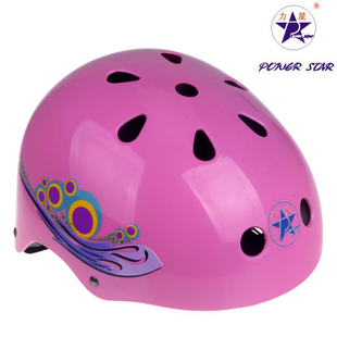 梅花头盔-粉红