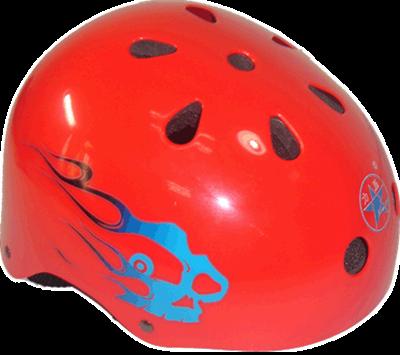 梅花头盔-红色